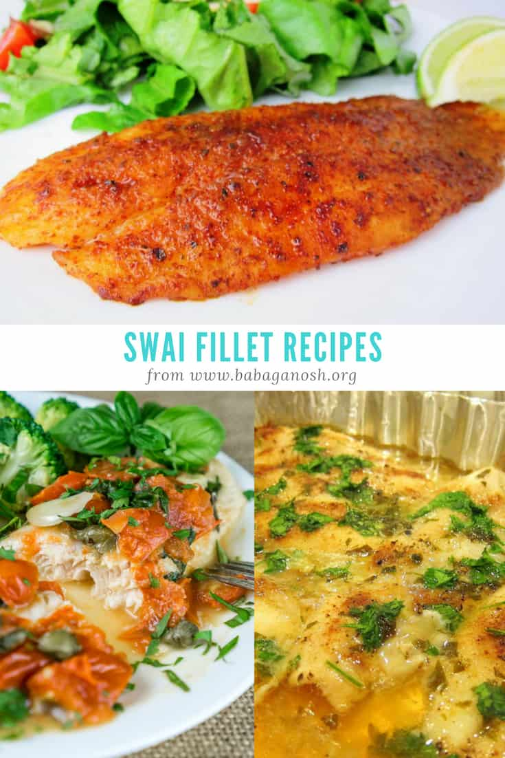 Swai Recipes Roundup Pin