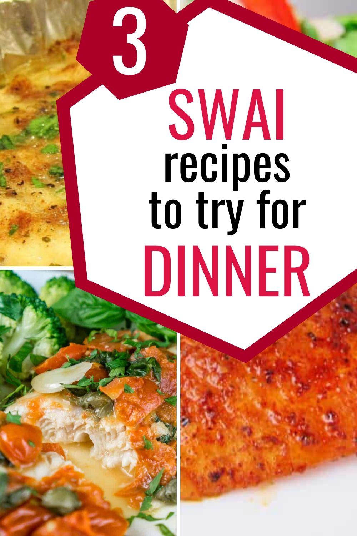 swai recipes collage graphic