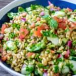 kamut tabbouleh salad