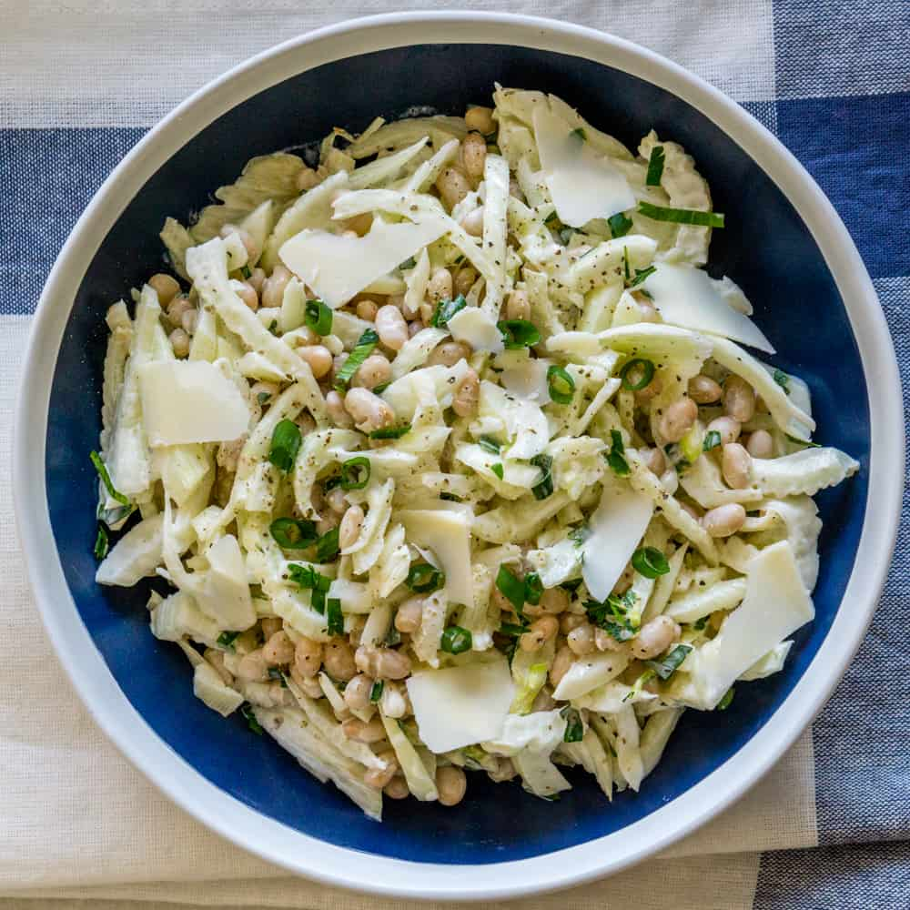 White Bean Fennel Salad Recipe