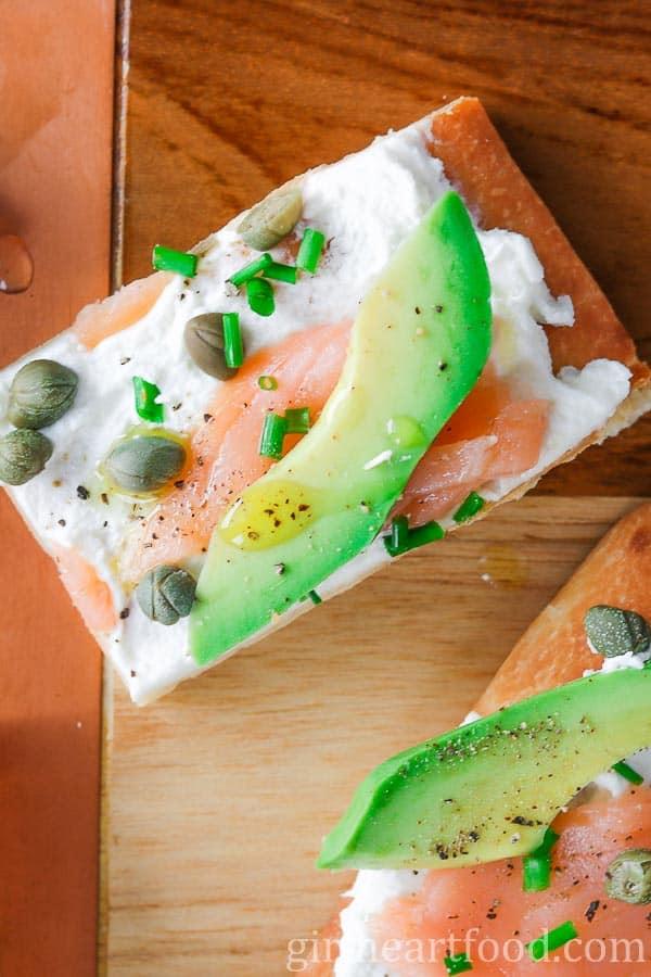 avocado smoked salmon appetizers - lox recipes roundup
