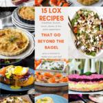 smoked salmon / lox recipe roundup - pinterest image