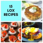 lox recipes pinterest graphic
