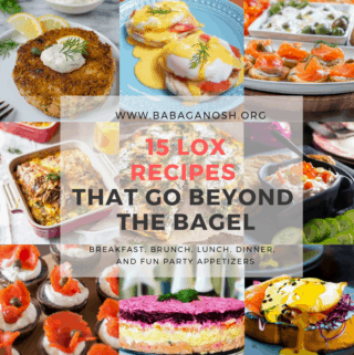 lox recipes roundup collage