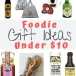 foodie gift ideas collage