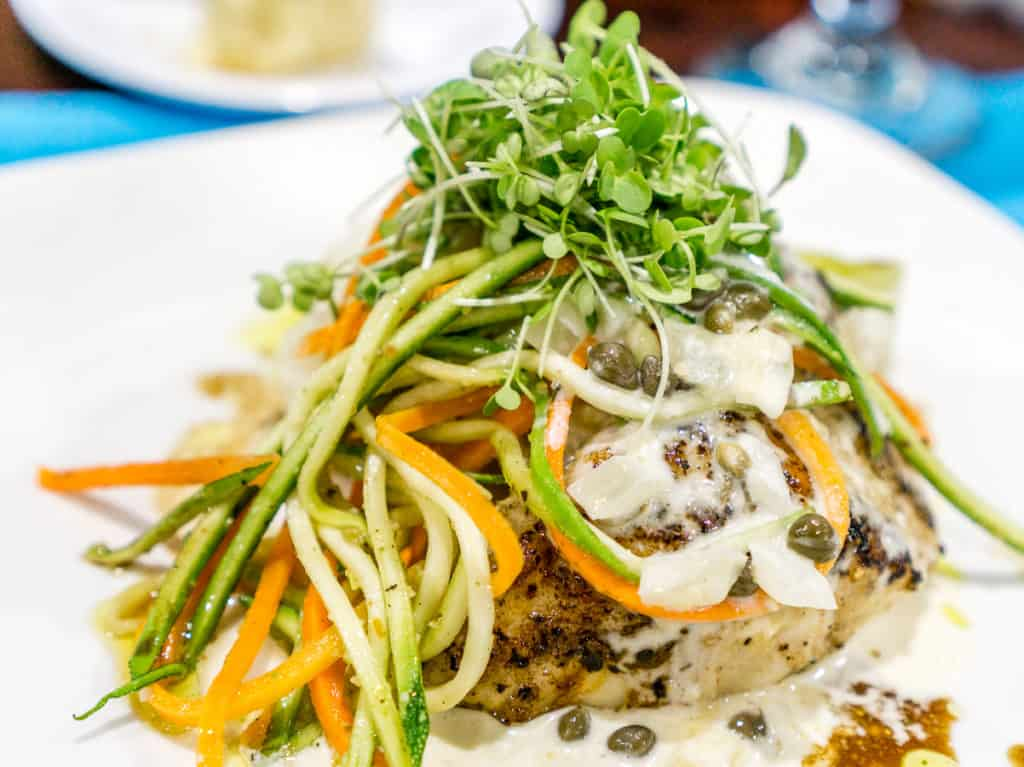 Nassau Grouper from Blue Marlin Cove Restaurant
