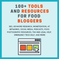 100+ Tools for Food Bloggers