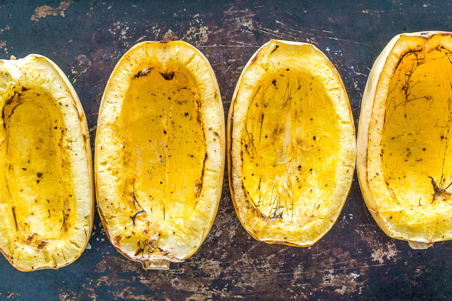 image of roasted spaghetti squash