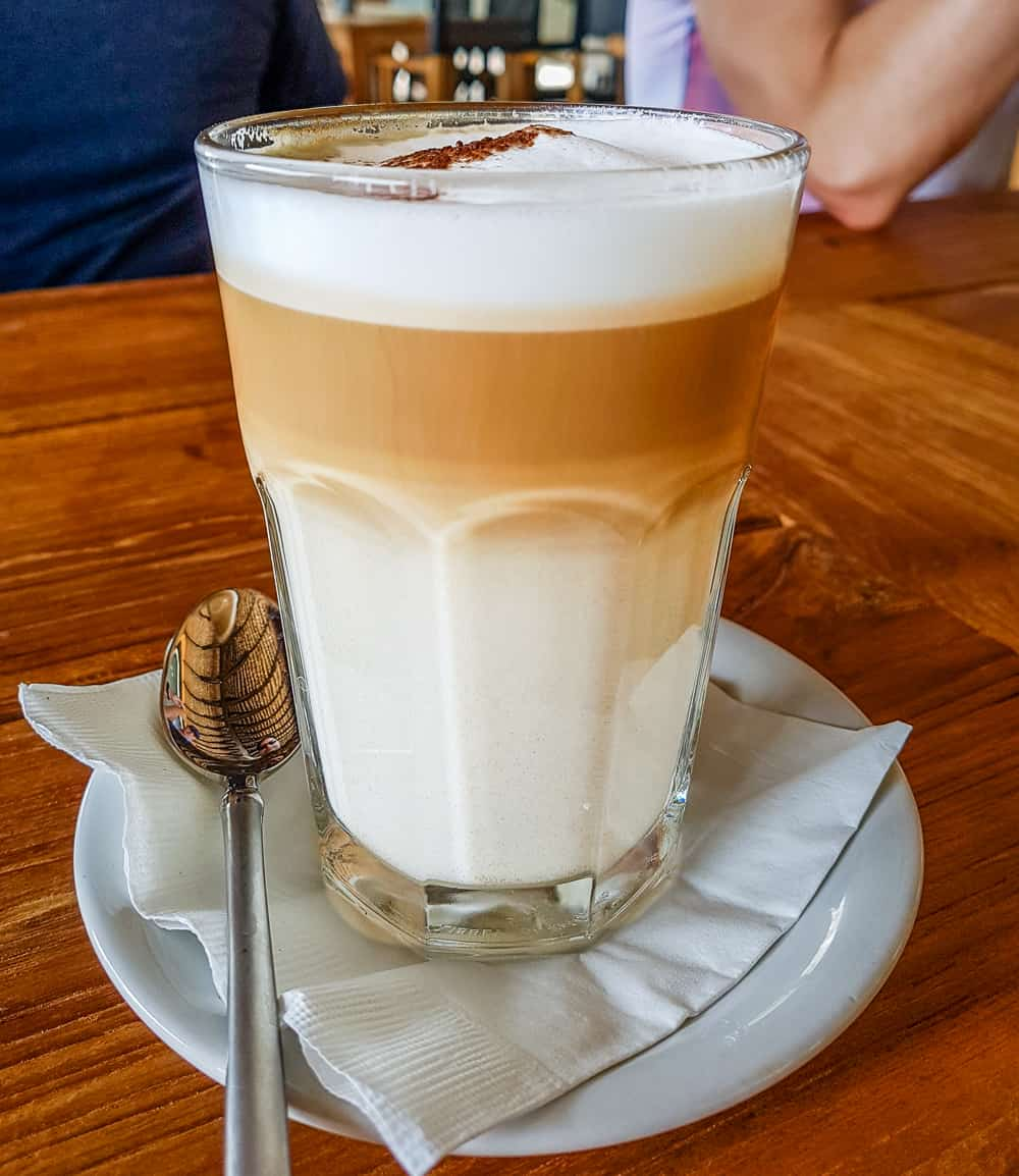 image of latte at stoned crab