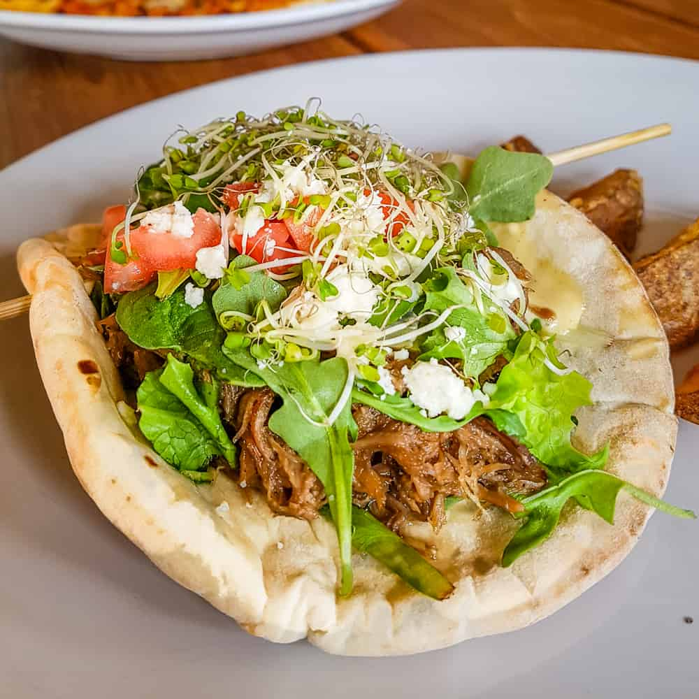 image of lamb pita