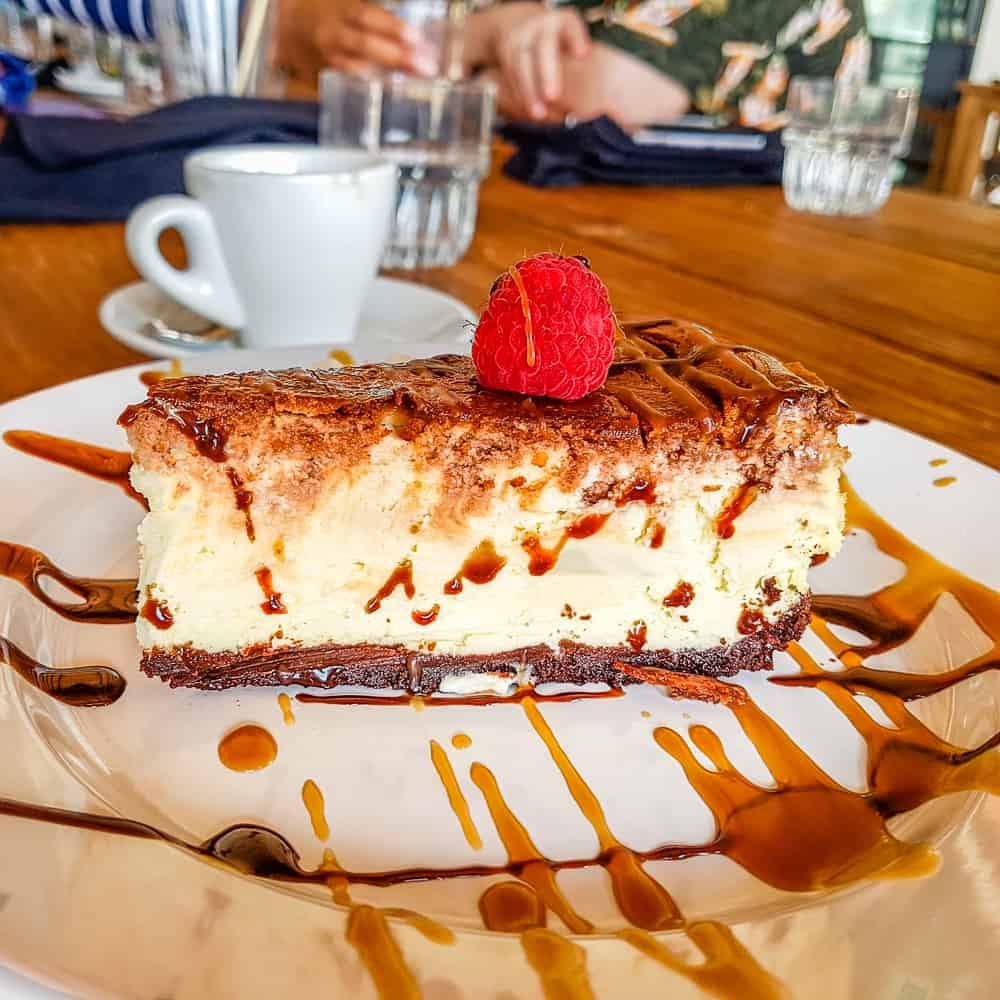 image of nutella cheesecake