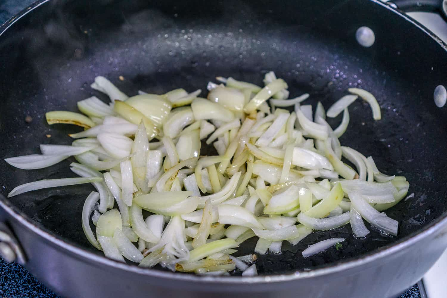 image of sauteed sliced onion
