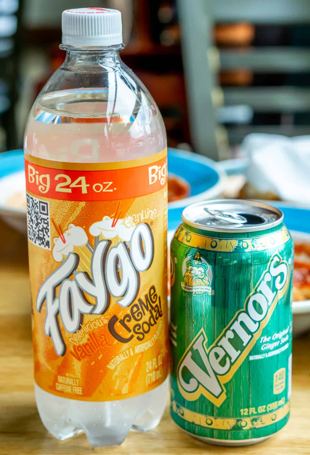 Faygo and Vernor's sodas