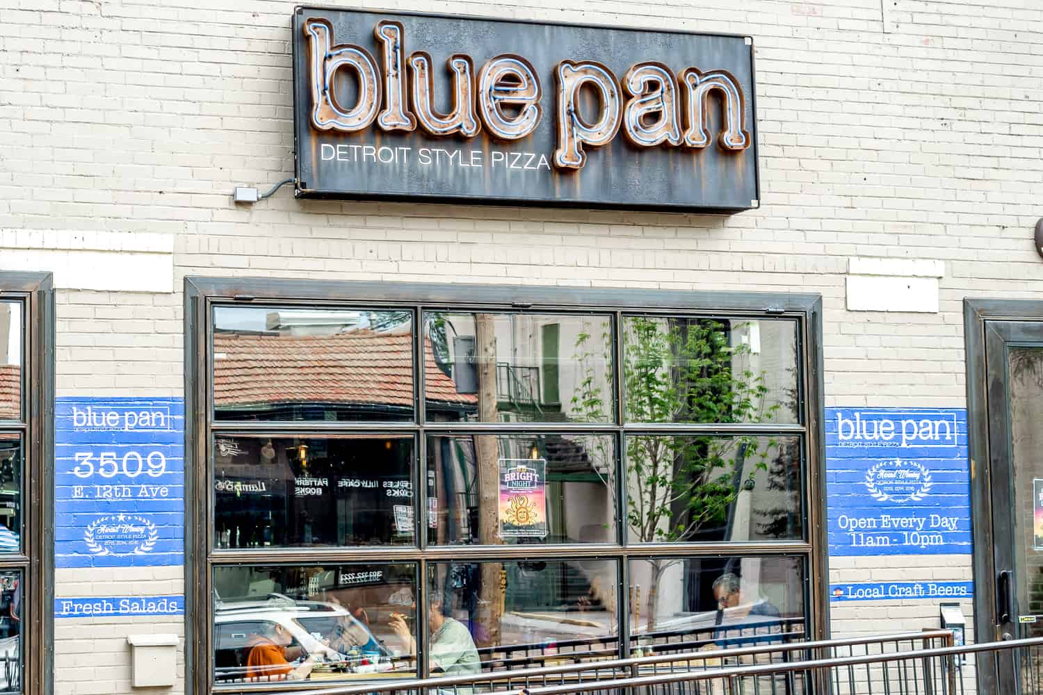 blue pan pizza, denver co