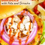 chickpea sweet potato burgers pinterest image