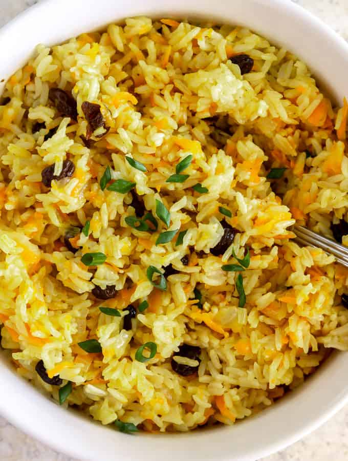 vegan instant pot rice pilaf