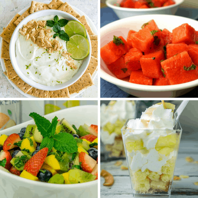 labor day dessert recipes - collage