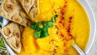 Lentil Butternut Squash Soup