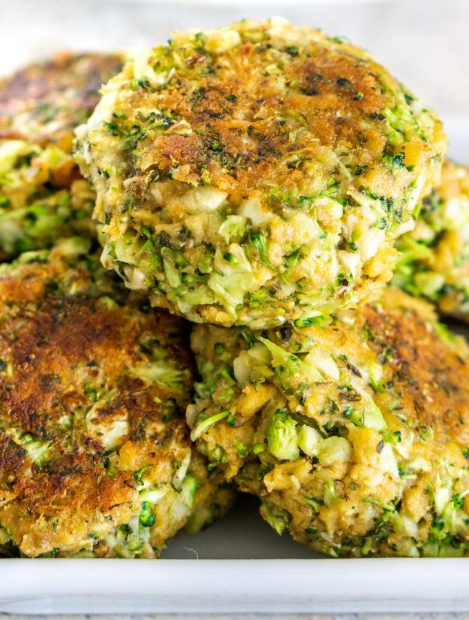 vegan broccoli meatballs