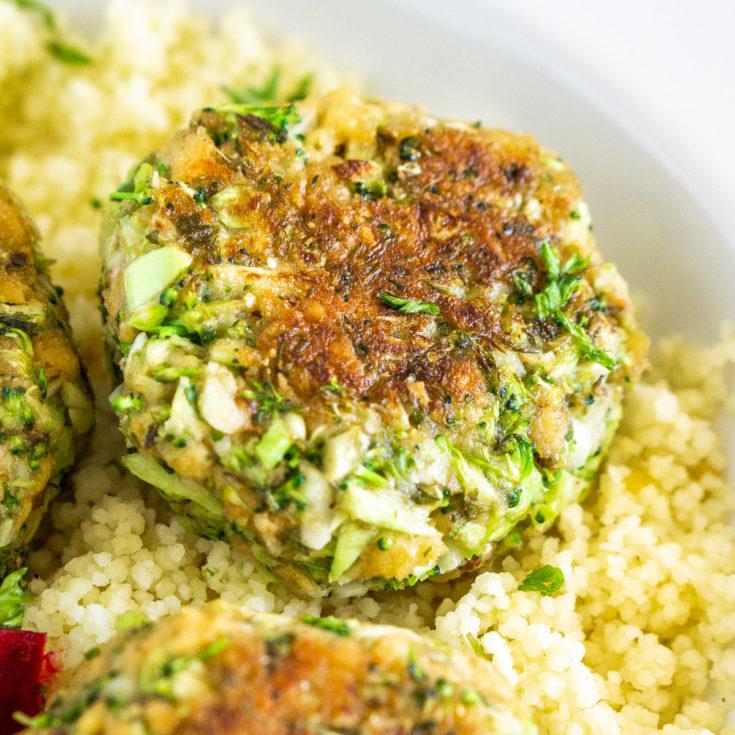 broccoli meatball made with adda veggies savory blend protein mix