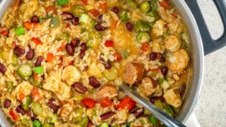 Jambalaya with Kidney Beans