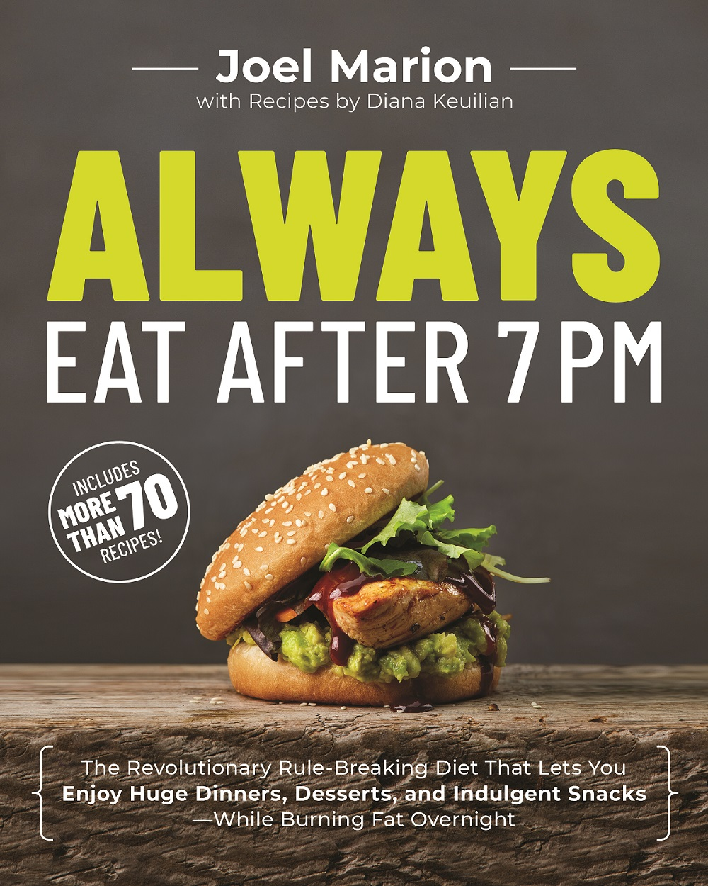 Always eat after 7 book cover
