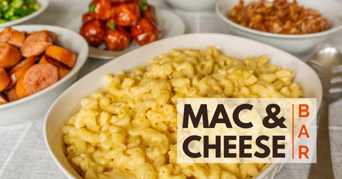 mac and cheese bar