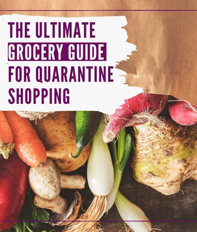 ultimate grocery guide graphic