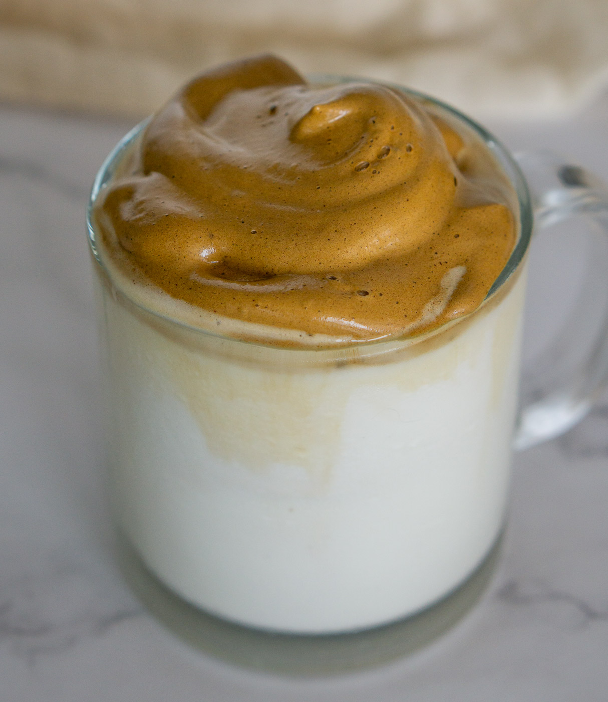 pumpkin spice whipped coffee latte