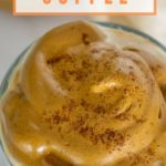 pumpkin spice whipped coffee pinterest graphic