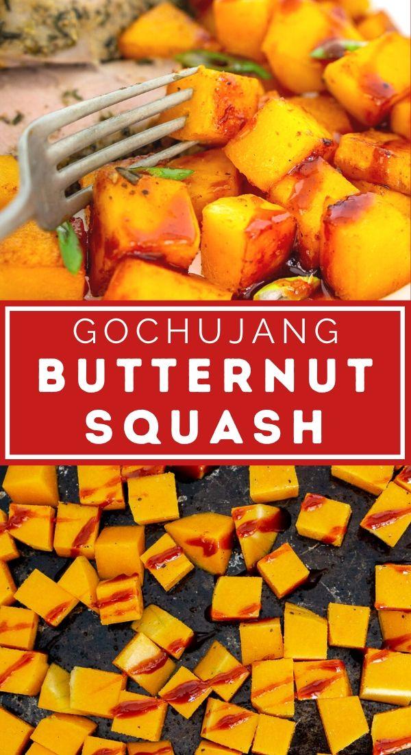 gochujang roasted butternut squash pin graphic