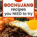 gochujang recipes graphic