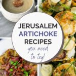 jerusalem artichoke recipes collage
