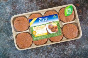 pure farmland vegan sausage package