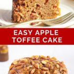 pinnaple image of easy apple toffee cake