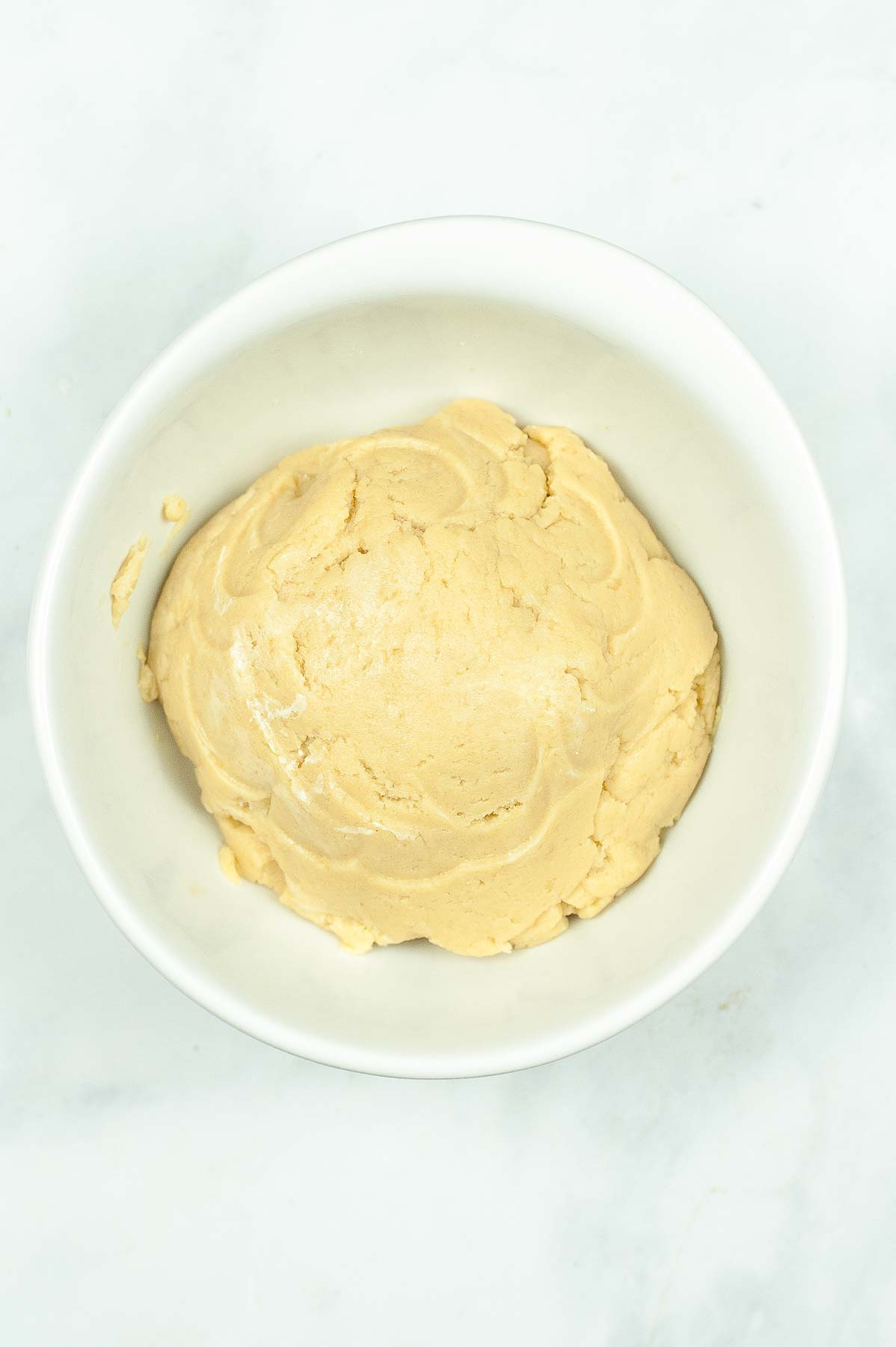 cake dough ready to make cake pops